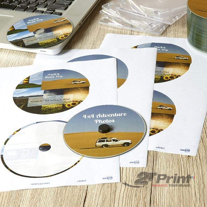 in nhãn đĩa CD tại 2TPrint