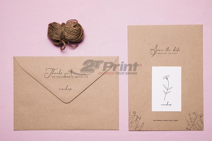 mẫu in phong bì thư tinh tế