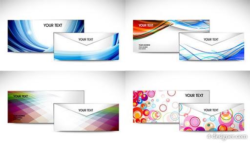 Phong bì công ty in 3 màu