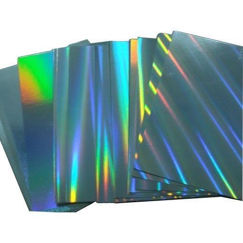 Lớp màng hologram làm tem bảy màu