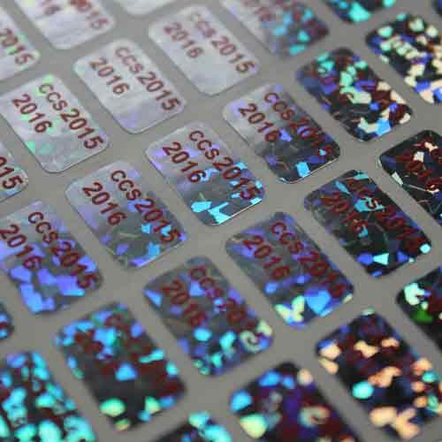 Mẫu tem bảy màu đẹp giá rẻ