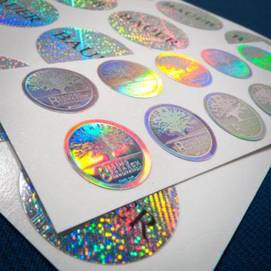 Mẫu tem bảy màu giá rẻ không cần giấy tờ