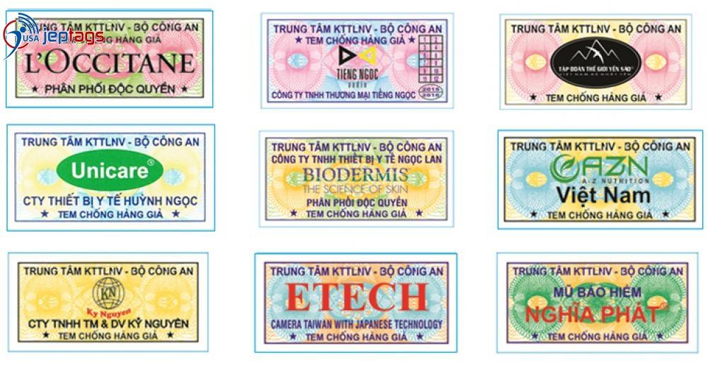 In tem chống hàng giả là giải pháp hữu hiệu chống nạn hàng nhái