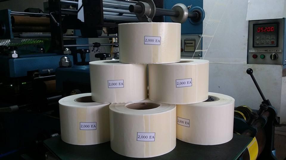 Tem decal cuộn hay còn được gọi là nhãn tem decal cuộn