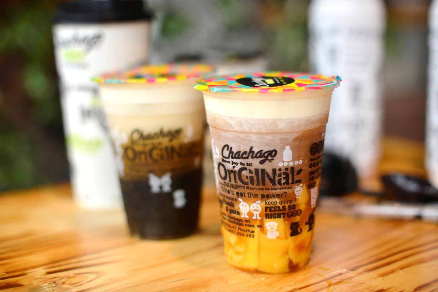 Tem Decal nhựa cho các thương hiệu trà sữa lớn như Tocotoco, Chachago,…
