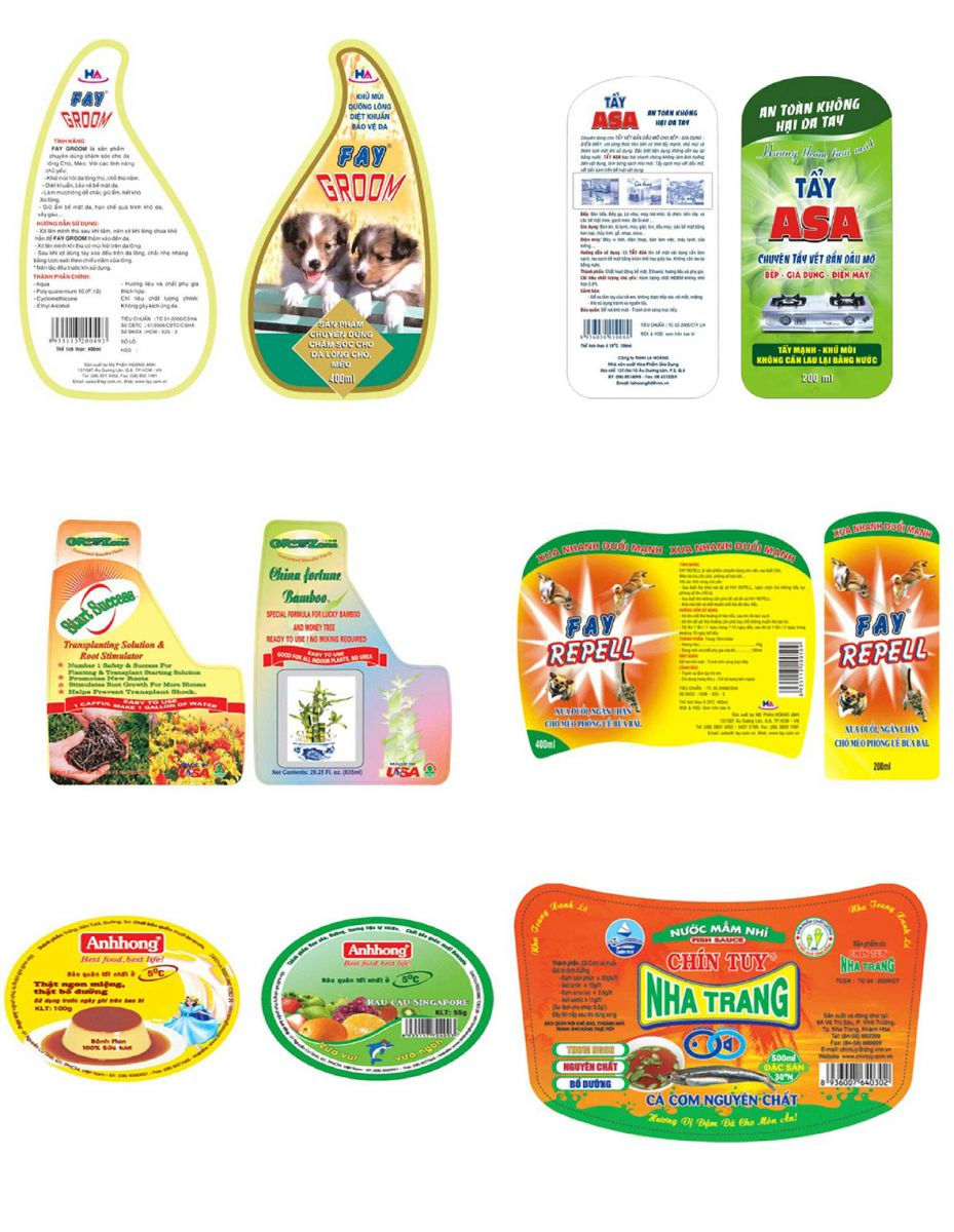 Tác dụng của tem nhãn sản phẩm