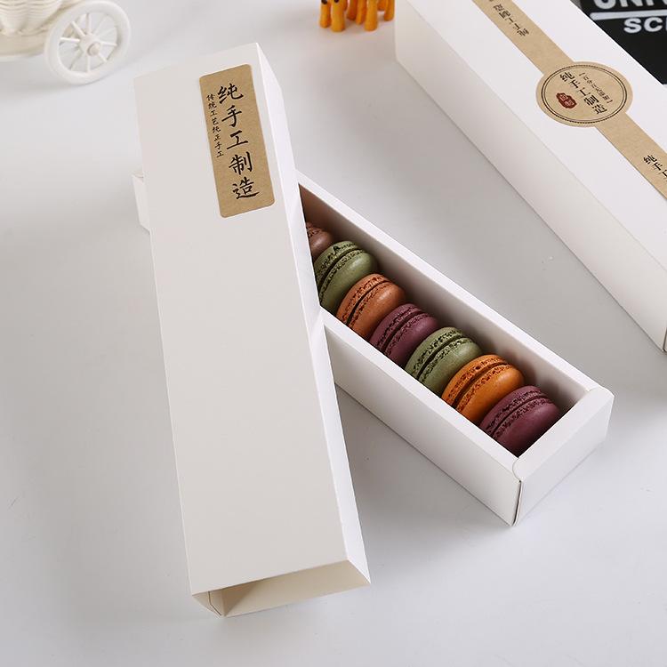 Tem nhãn giấy kraft sử dụng trên các loại hộp đựng bánh kẹo