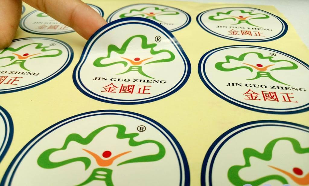 Tem nhãn logo được các công ty in ấn nhằm quảng bá thương hiệu một cách triệt để