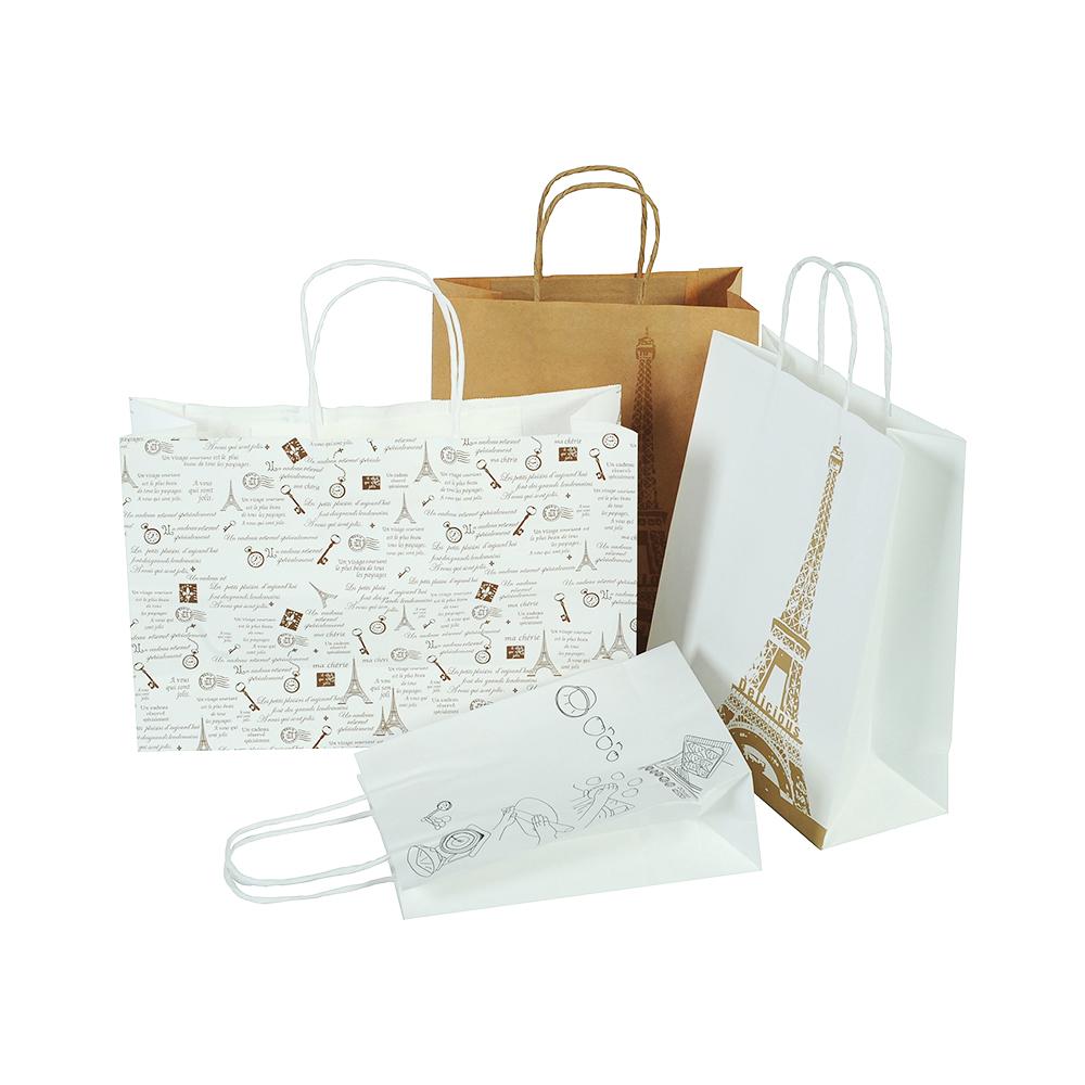 Quá trình lựa chọn dây túi giấy tùy thuộc vào nhu cầu của khách hàng