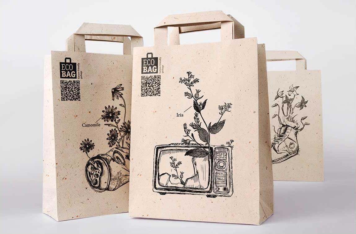 Sử dụng túi giấy sẽ đem lại cho khách hàng của bạn những ấn tượng sâu sắc
