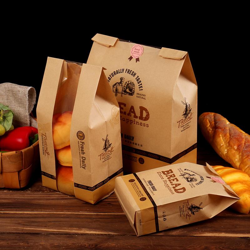 Hình dạng của túi giấy đựng bánh mì