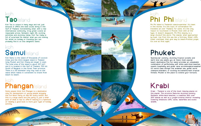 màu sắc chủ đạo trên sản phẩm brochure là điều cần chú ý