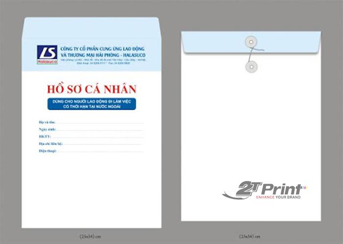 kích thước bìa hồ sơ cá nhân