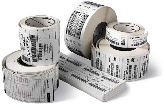 Decal giấy cuộn dùng in tem nhãn, mã vạch.