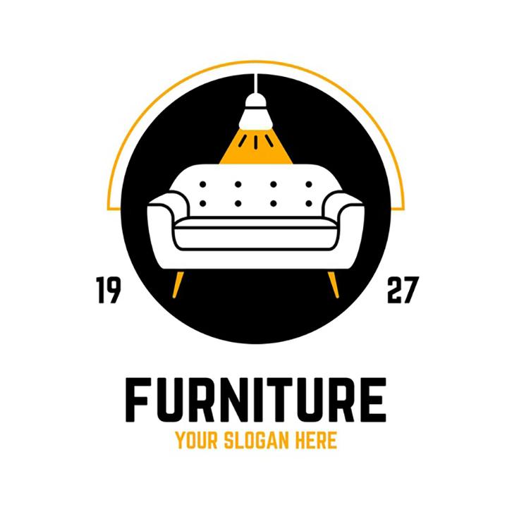 mẫu thiết kế logo nội thất ấn tượng