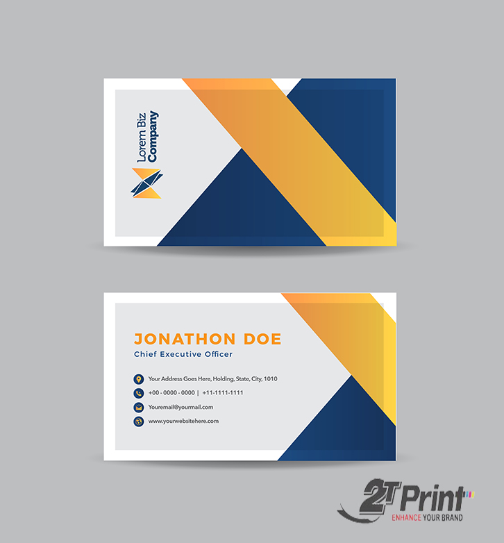 mẫu card visit cá nhân phổ biến