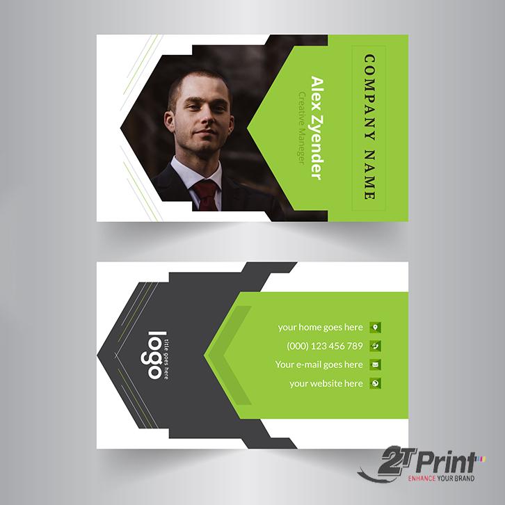 mẫu card visit cá nhân in hình ảnh