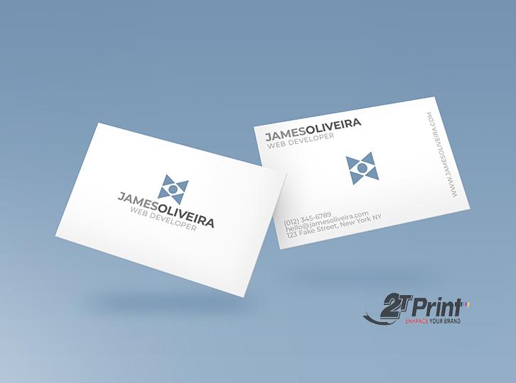 mẫu card visit cá nhân đơn giản