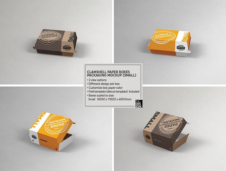 Hộp giấy đựng thức ăn đa dạng