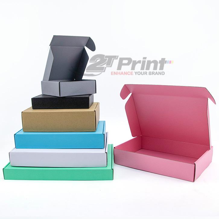mẫu hộp carton đựng đồ điện tử đa dạng sắc màu