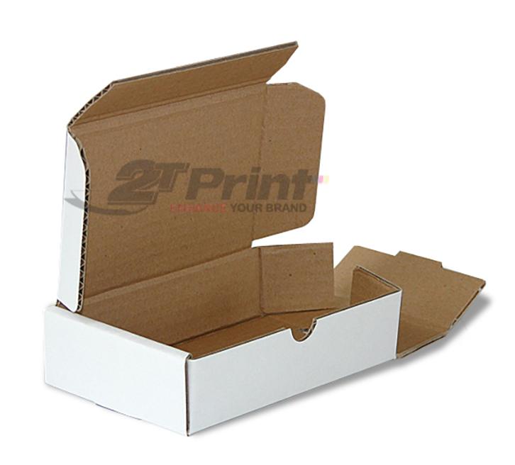 mẫu hộp giấy carton đựng phụ kiện oto màu trắng