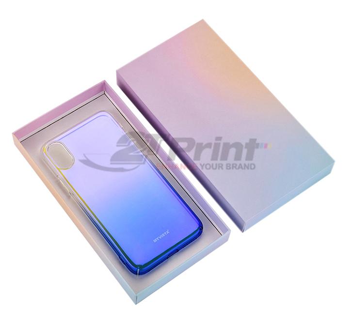 mẫu hộp giấy đựng phụ kiện điện thoại đẹp nổi bật