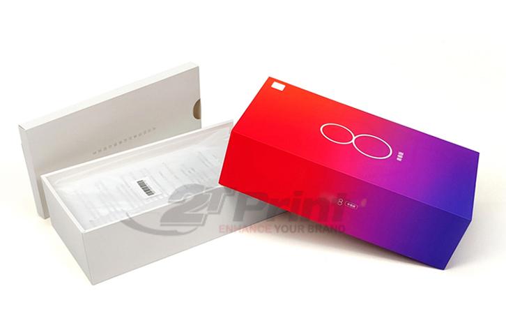 mẫu hộp giấy đựng phụ kiện điện thoại giúp quảng bá thương hiệu