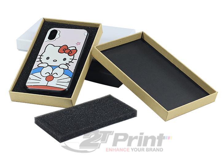 mẫu hộp giấy đựng phụ kiện điện thoại đẹp hữu ích