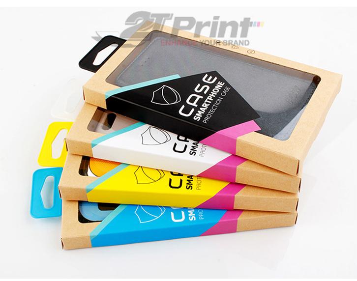 mẫu hộp giấy đựng phụ kiện điện thoại đẹp ấn tượng