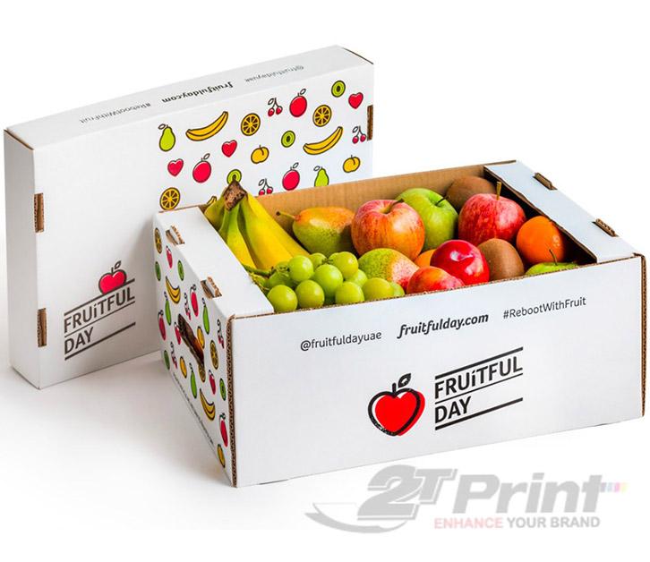 mẫu khay giấy đựng hoa quả chất lượng