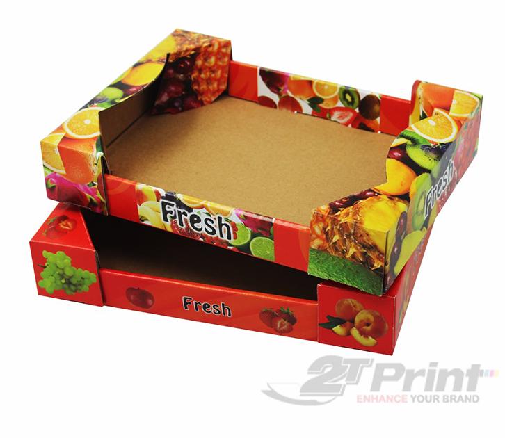 mẫu khay giấy đựng hoa quả nổi bật