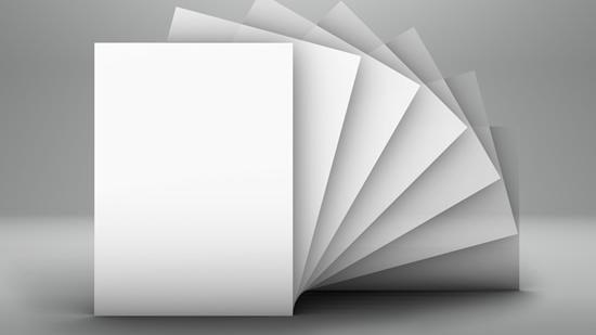 Chất liệu in phong bì thường là giấy duplex