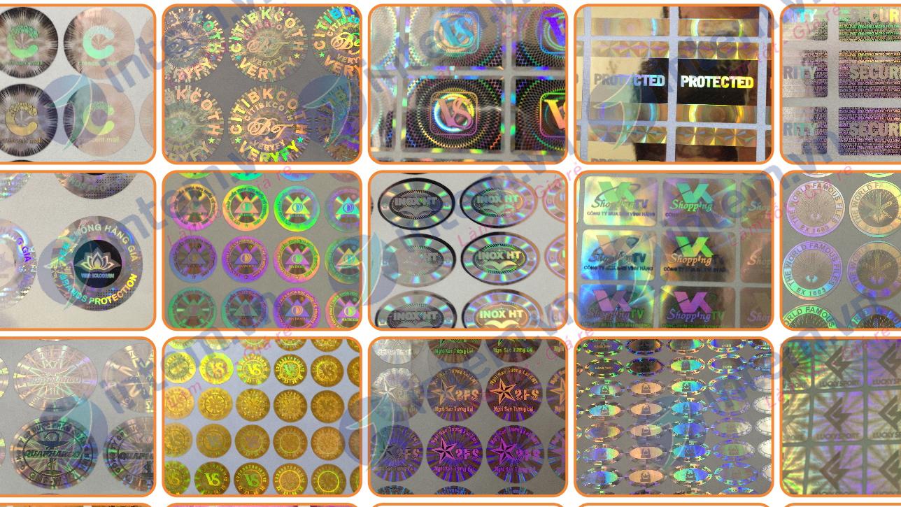 Mẫu tem bảy màu đẹp nhất