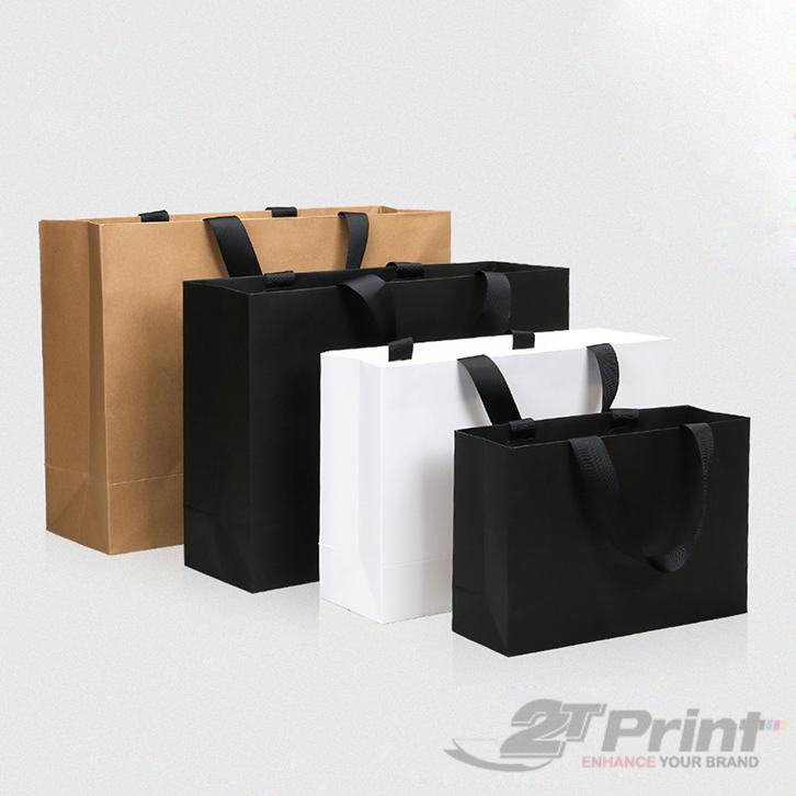 mẫu túi giấy đựng hộp quà tết đa dạng