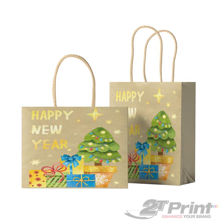 mẫu túi giấy đựng hộp quà tết dễ thương