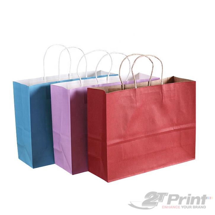 mẫu túi giấy đựng hộp quà tết đơn giản