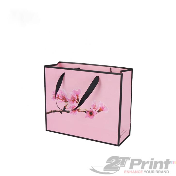 mẫu túi giấy đựng hộp quà tết chất liệu cao cấp