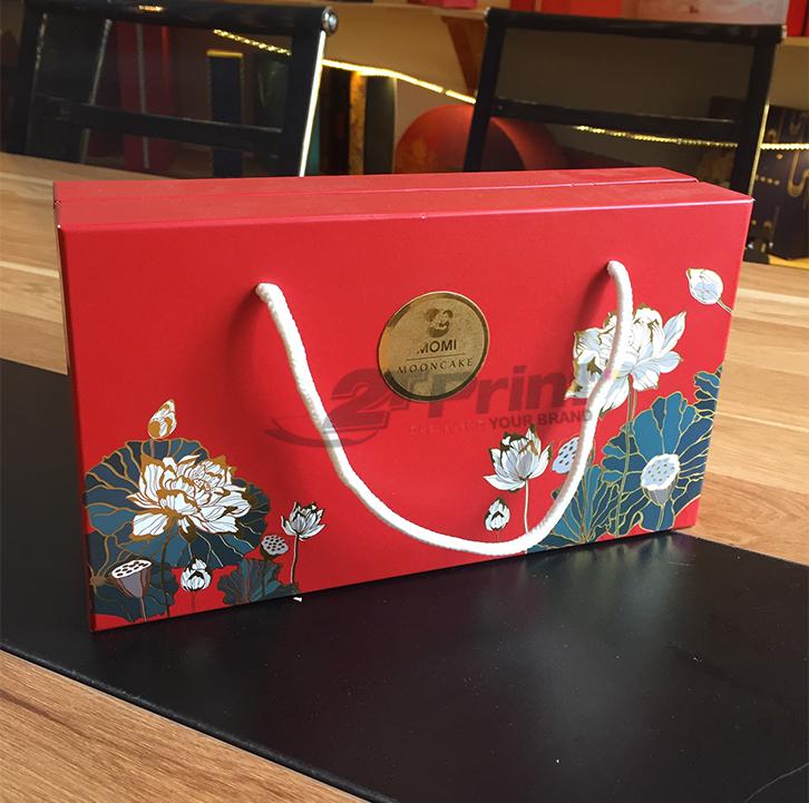 mẫu túi giấy đựng hộp quà tết cao cấp