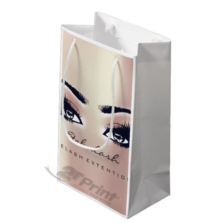 mẫu túi giấy đựng mỹ phẩm dễ thương