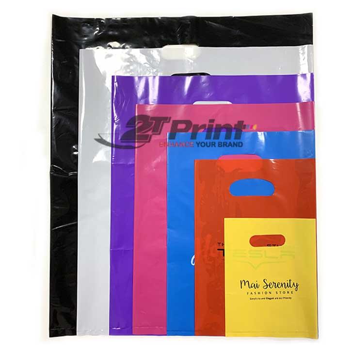 mẫu túi nilon đựng quần áo tại 2TPrint hợp xu hướng
