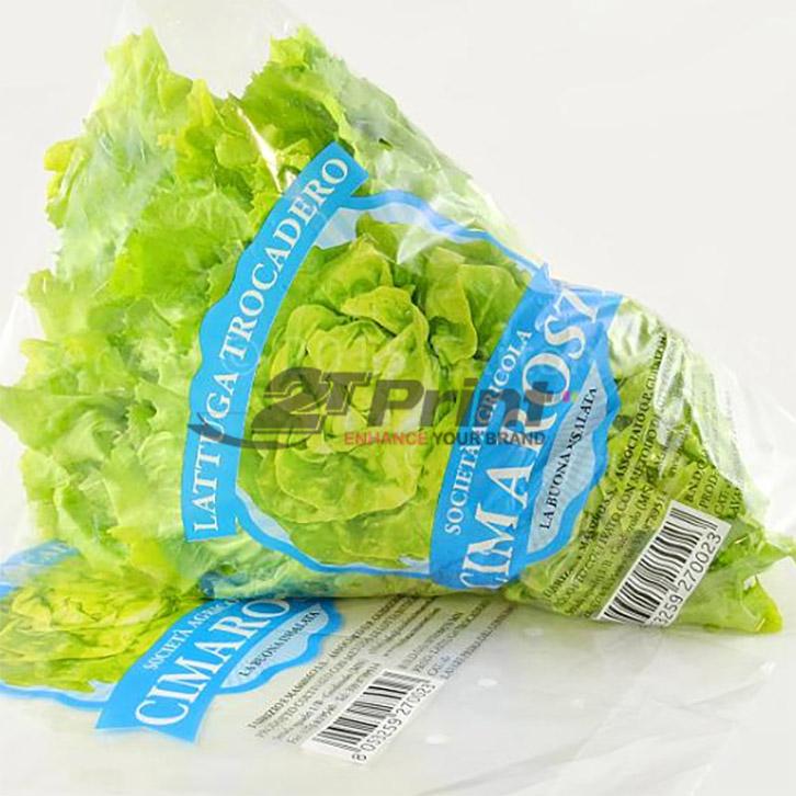 mẫu túi nilon đựng rau sạch bảo quản