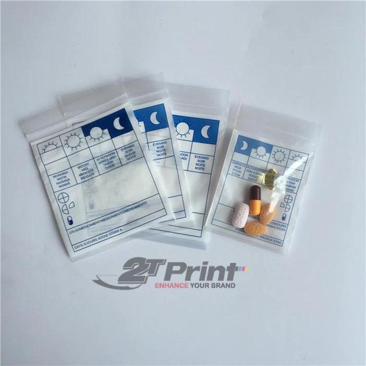 mẫu túi nilon đựng thuốc chất lượng