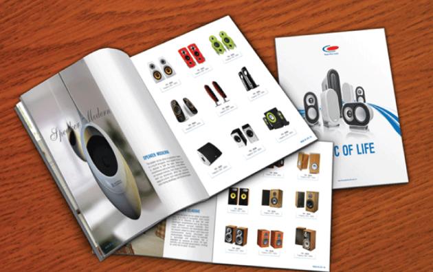 Thiết kế catalog thật ấn tượng là công việc rất quan trọng
