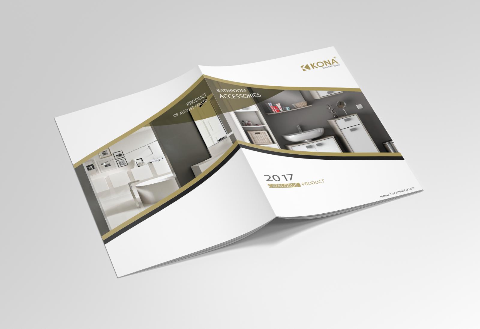 Một số sản phẩm catalogue, brochure của xưởng in 2T