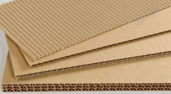 Bìa carton cứng dùng để làm thùng, hộp carton