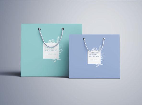 Túi giấy cao cấp màu sắc đơn giản