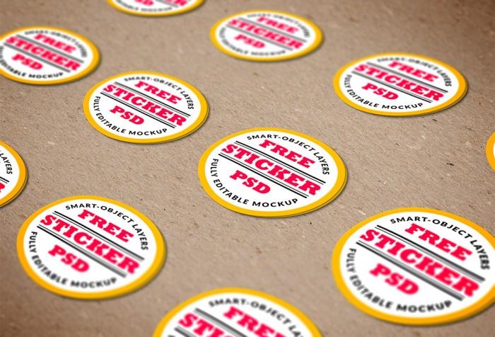 Các thành phẩm sticker mà 2T đã hoàn thiện