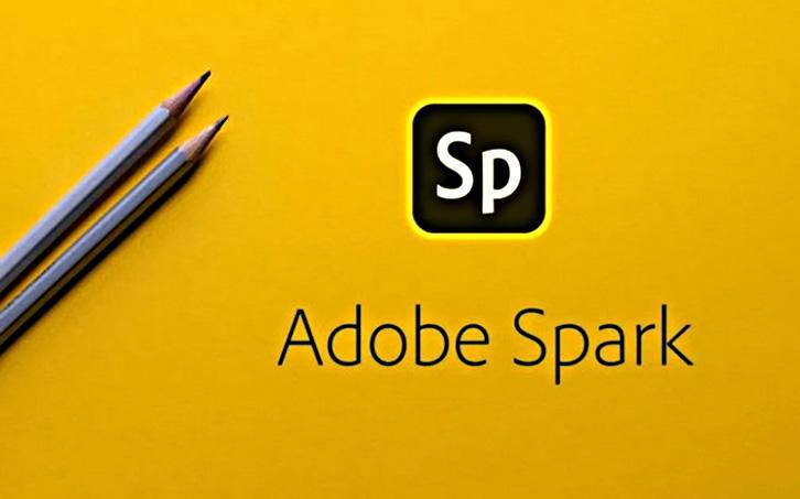 phần mềm thiết kế card visit Adobe Spark