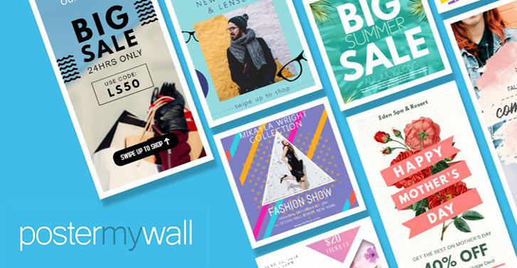 Phần mềm thiết kế poster MyWall