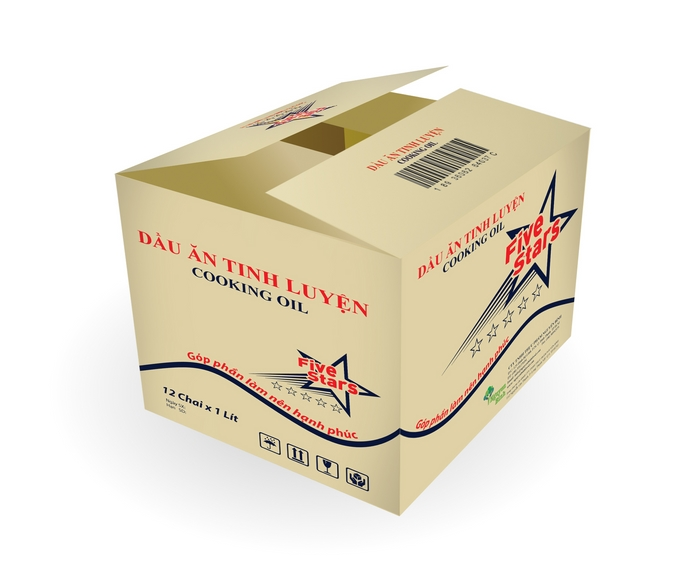 sản xuất thùng carton in flexo
